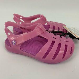 CROCS Isabella Girl's Pink Sandals